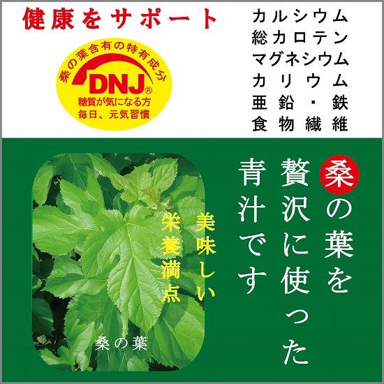 桑の葉を贅沢に使った青汁です 20P