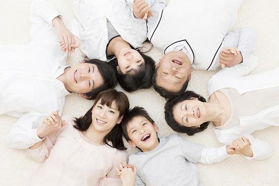 3世代家族 健康